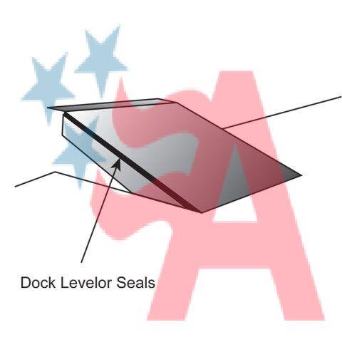 Dock Leveler Weatherseal Kit L Style 3 In Brush